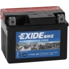 Exide Bike Maintenance Free 12V, 3Ah, YTX4L-BS